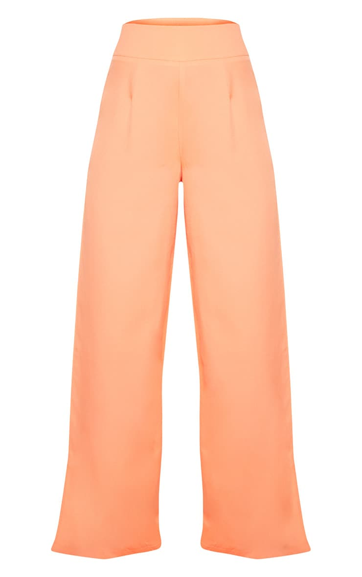 Petite Coral Wide Leg Trousers 3