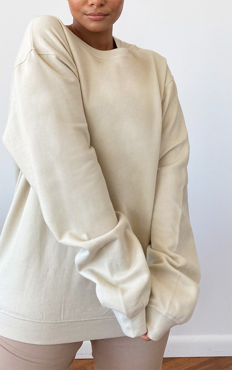 Plus Sand Ultimate Oversized Sweater 4
