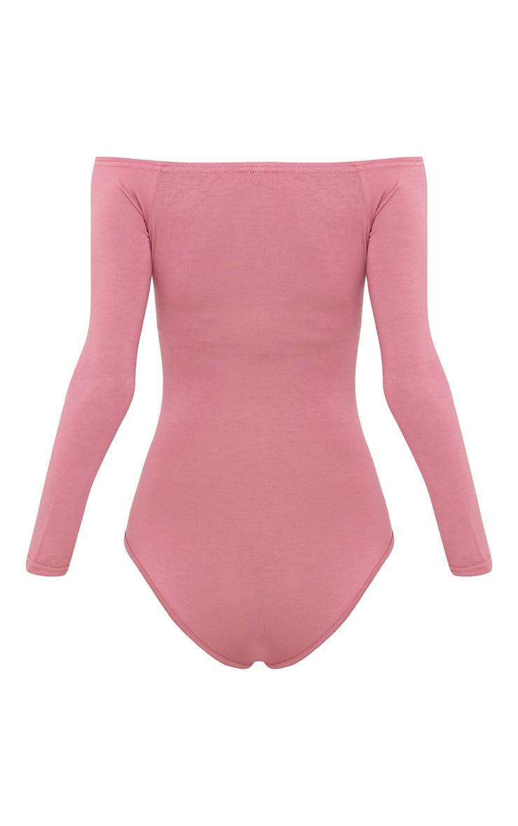 Basic body bardot rose 5