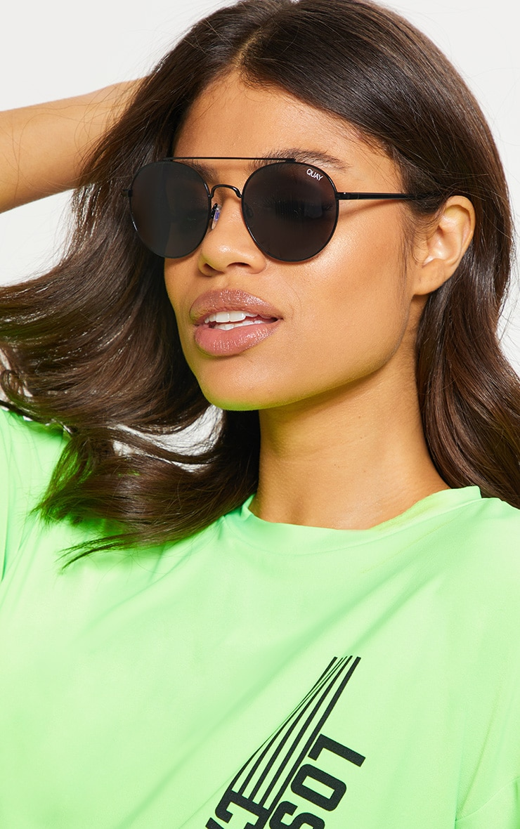 QUAY AUSTRALIA Black Outshine Sunglasses 1