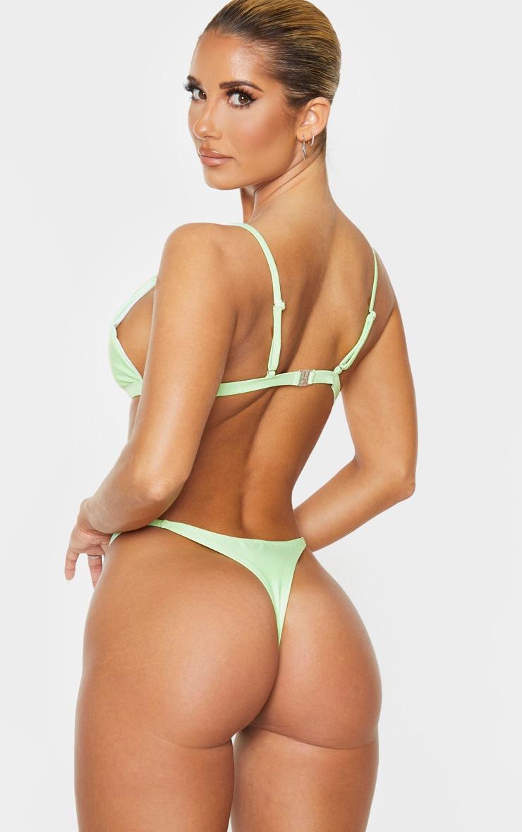 Mint Mix & Match Itsy Bitsy Bikini Top 2