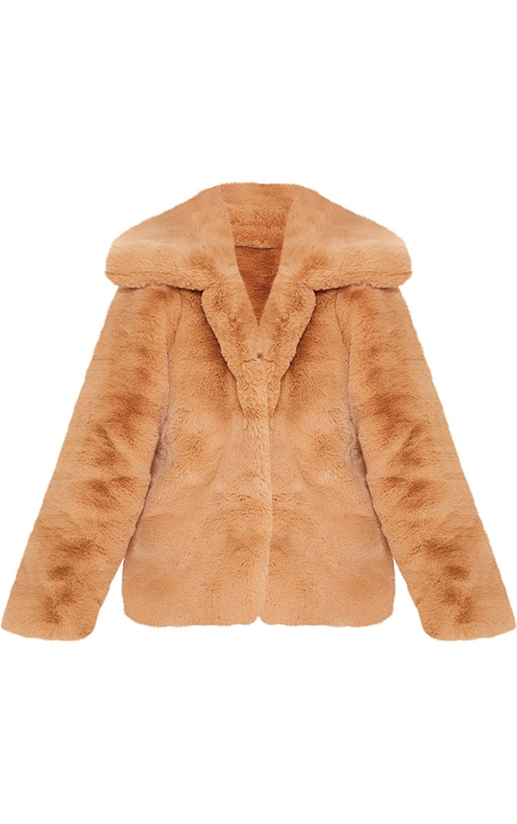 BEIGE FUR JACKET  3