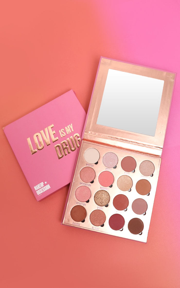 Makeup Obsession Love Is My Drug Eyeshadow Palette 1