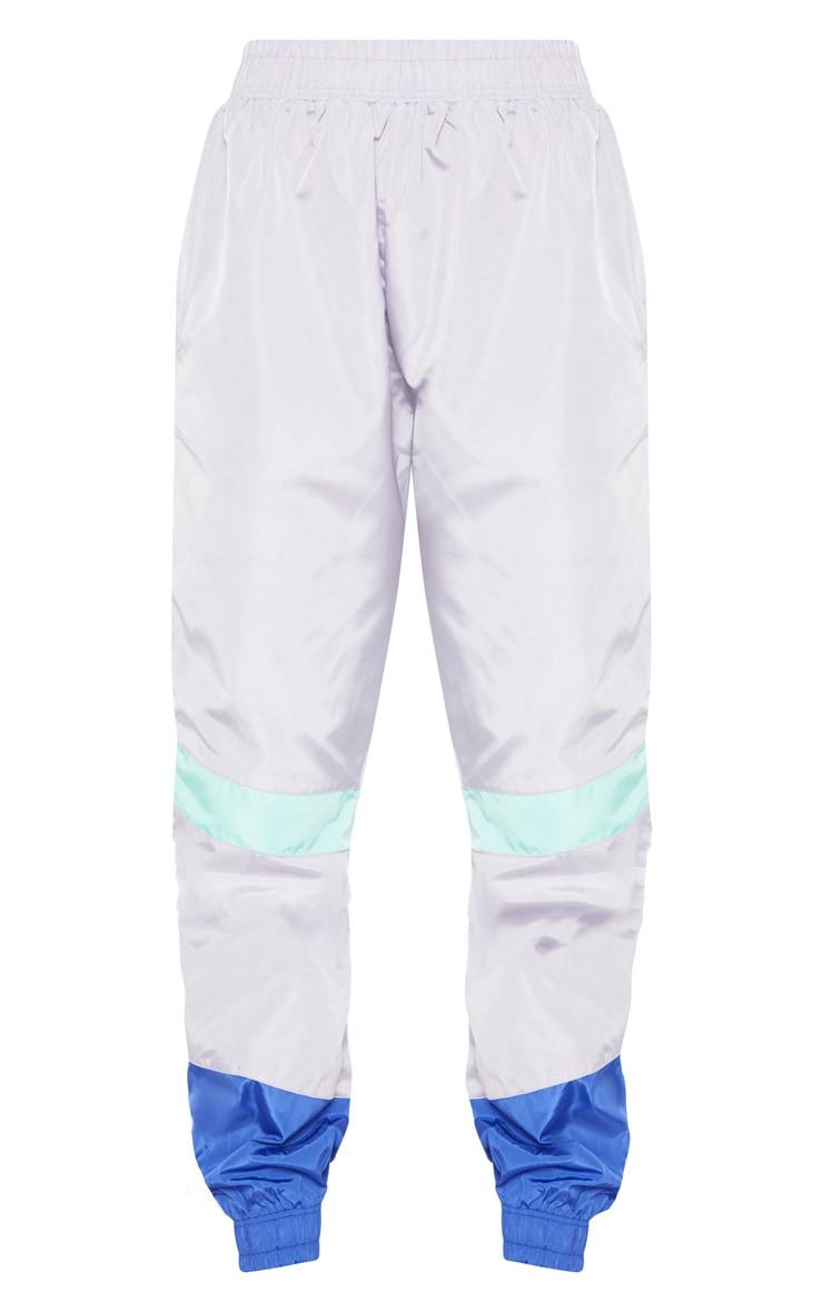 Grey Colour Block Jogger  3