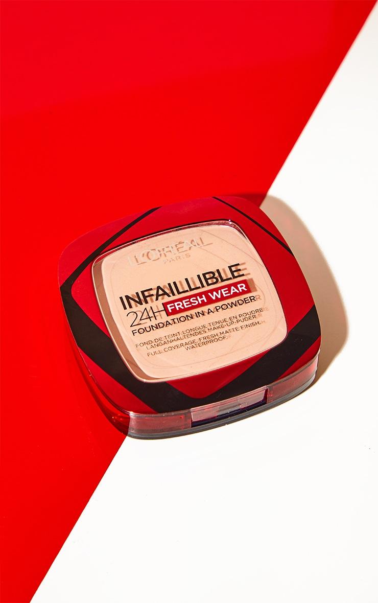 L'Oreal Paris Infallible 24H Fresh Wear Foundation 20 Ivory 3