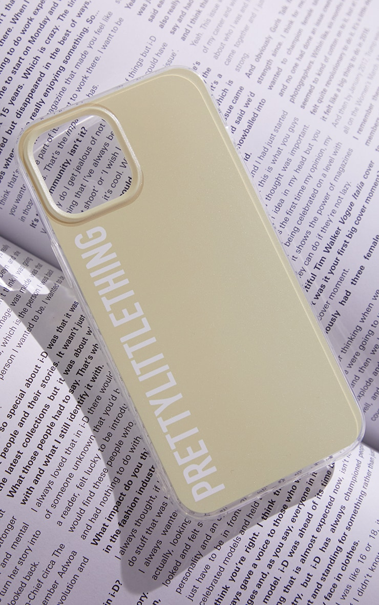 PRETTYLITTLETHING - Coque sable pour iPhone 12 Pro Max 2