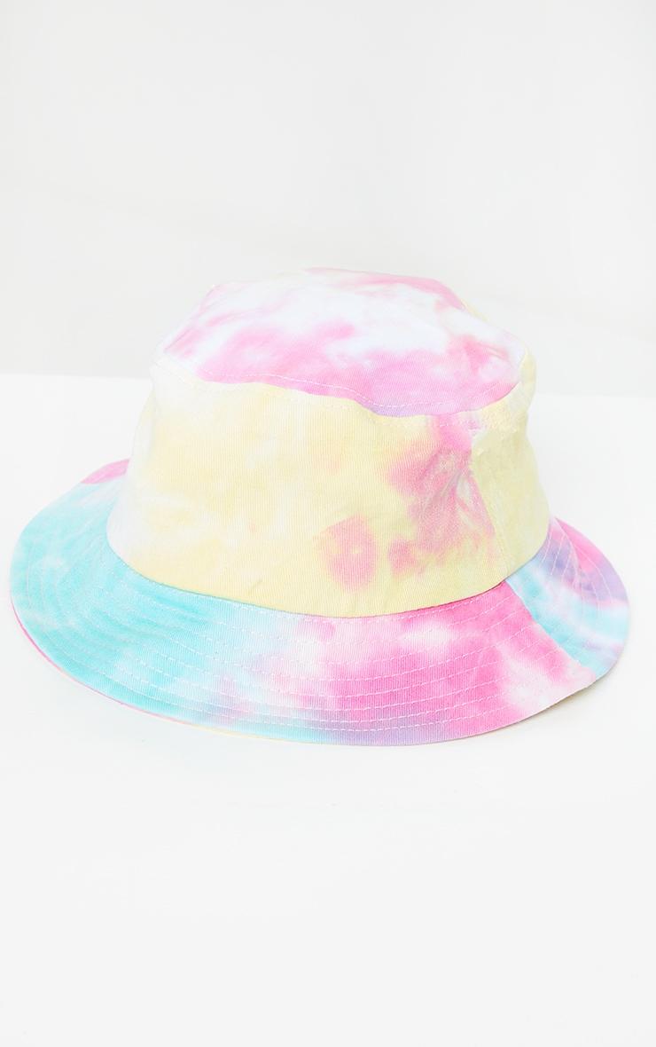 Bright Multi Tie Dye Bucket Hat 2