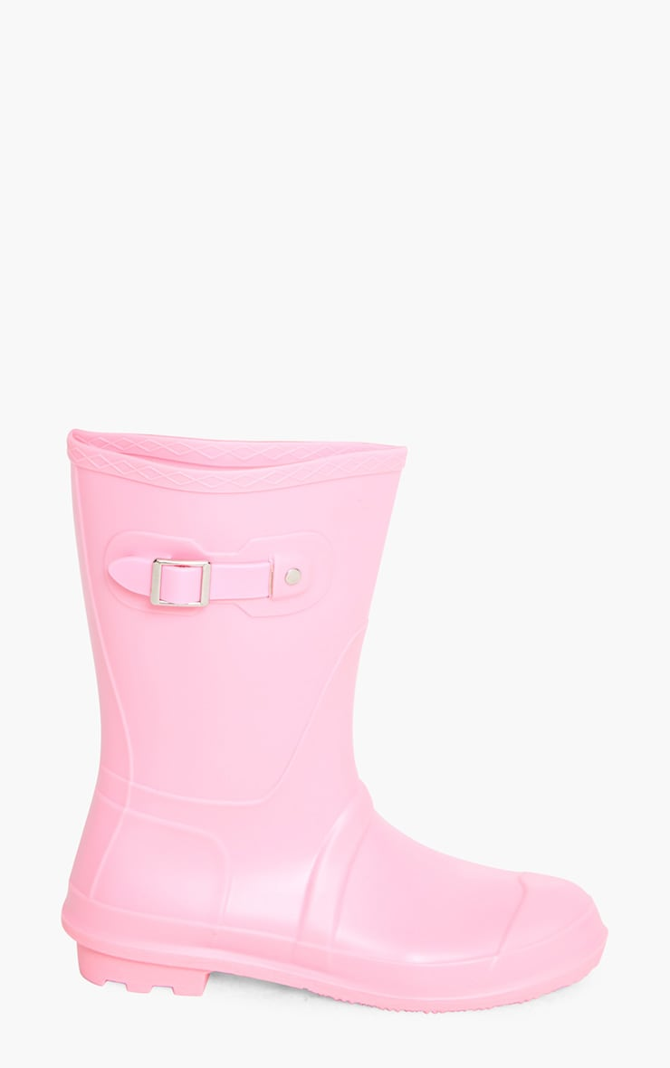 Baby Pink Short Wellies 3