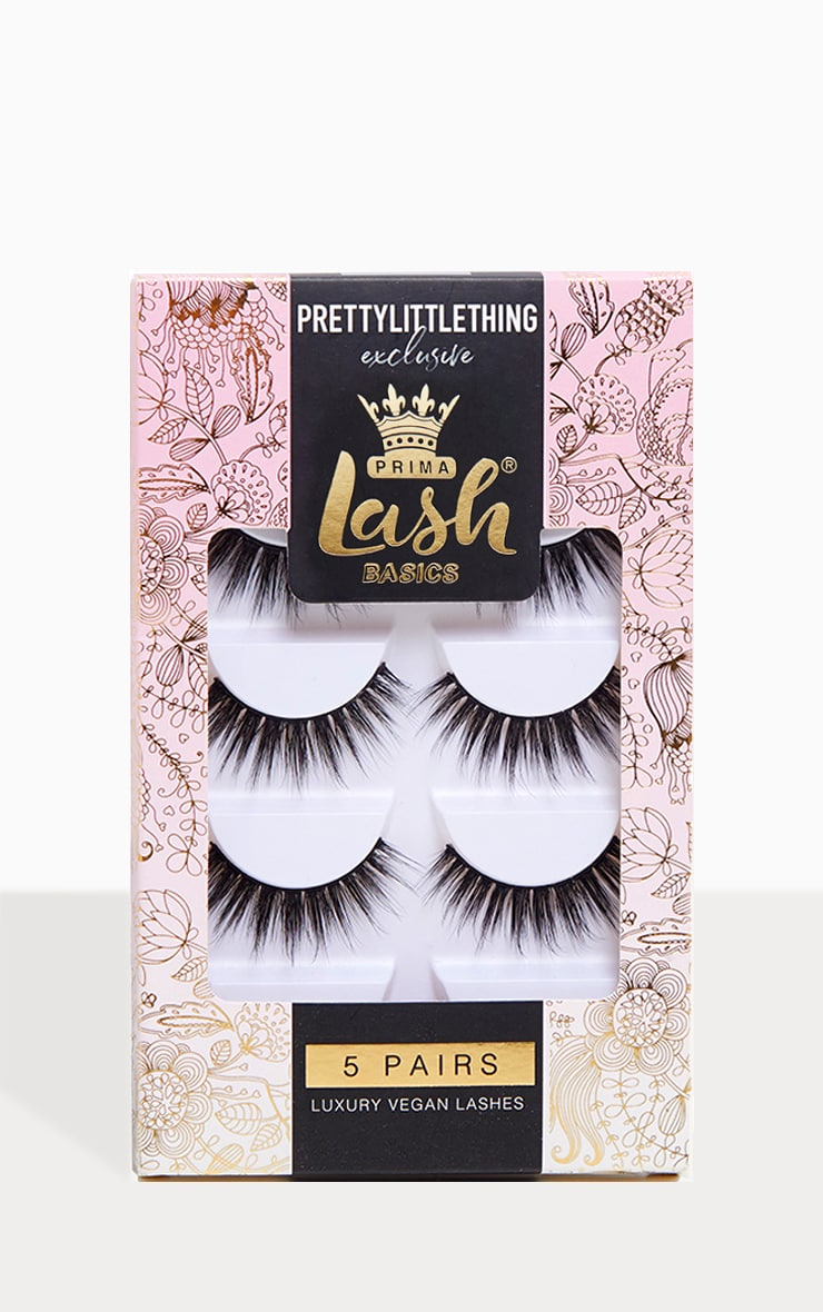 PrimaLash PRETTYLITTLETHING Exclusive 5 Pack Lashes 1