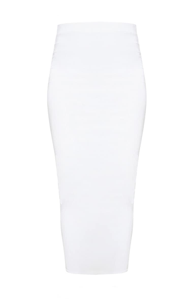 White Midi Skirt 3