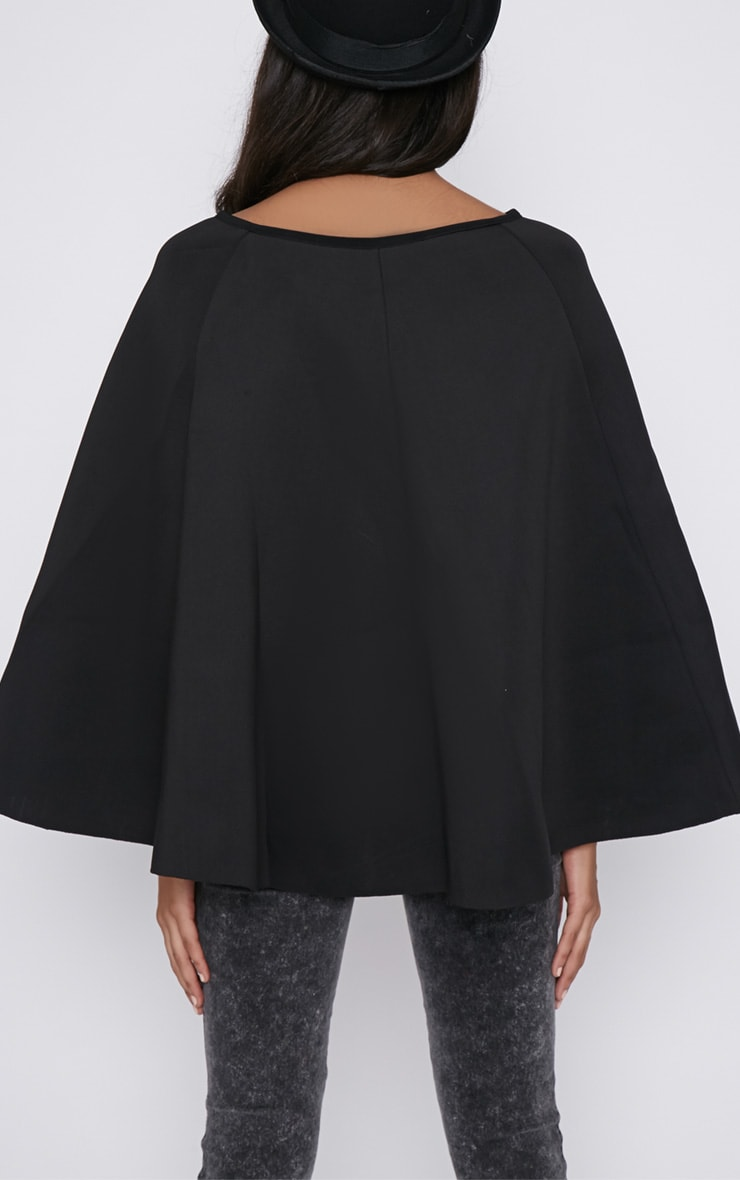 Dawn Black Cape  2