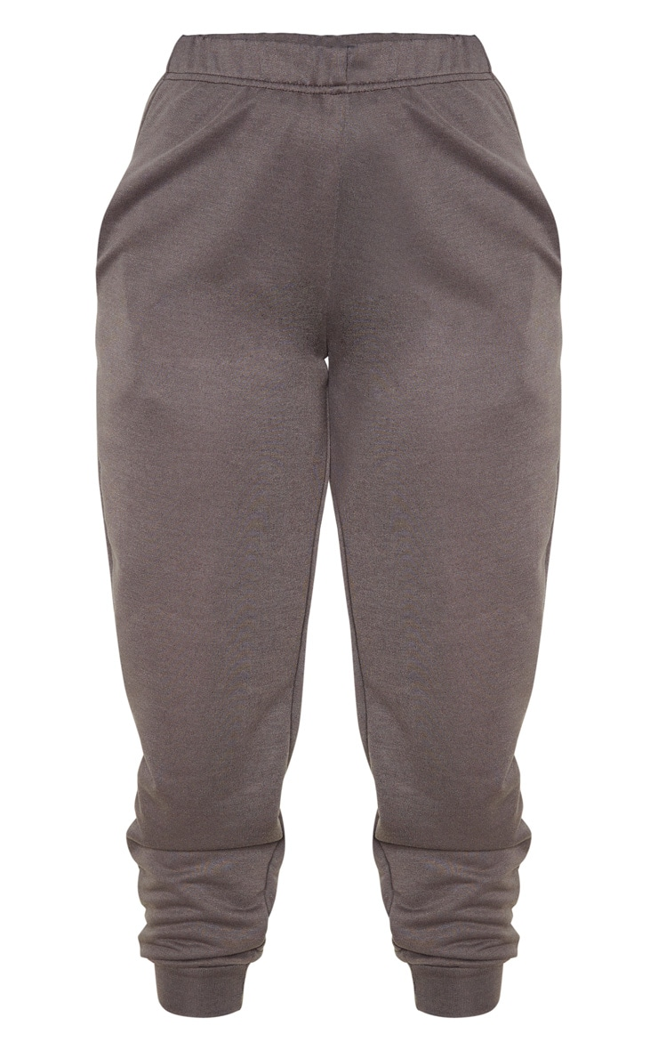 Petite Charcoal Casual Joggers 3