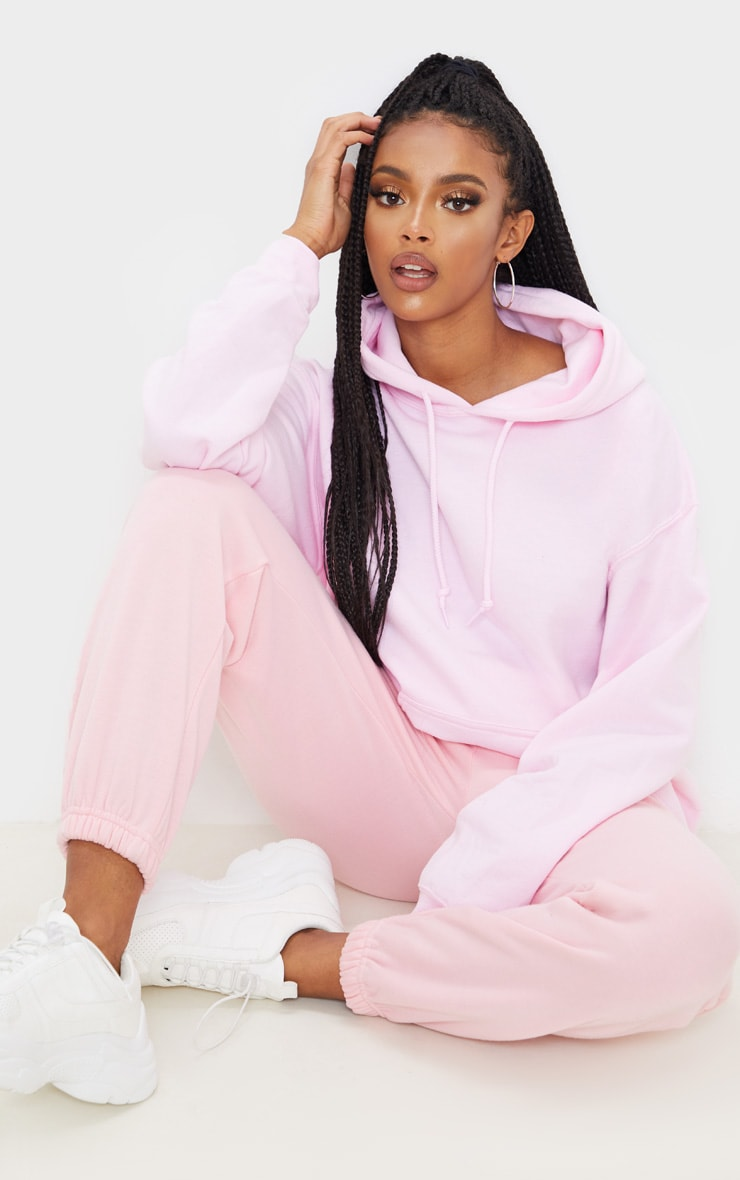 Light Pink Ultimate Oversized Hoodie 4