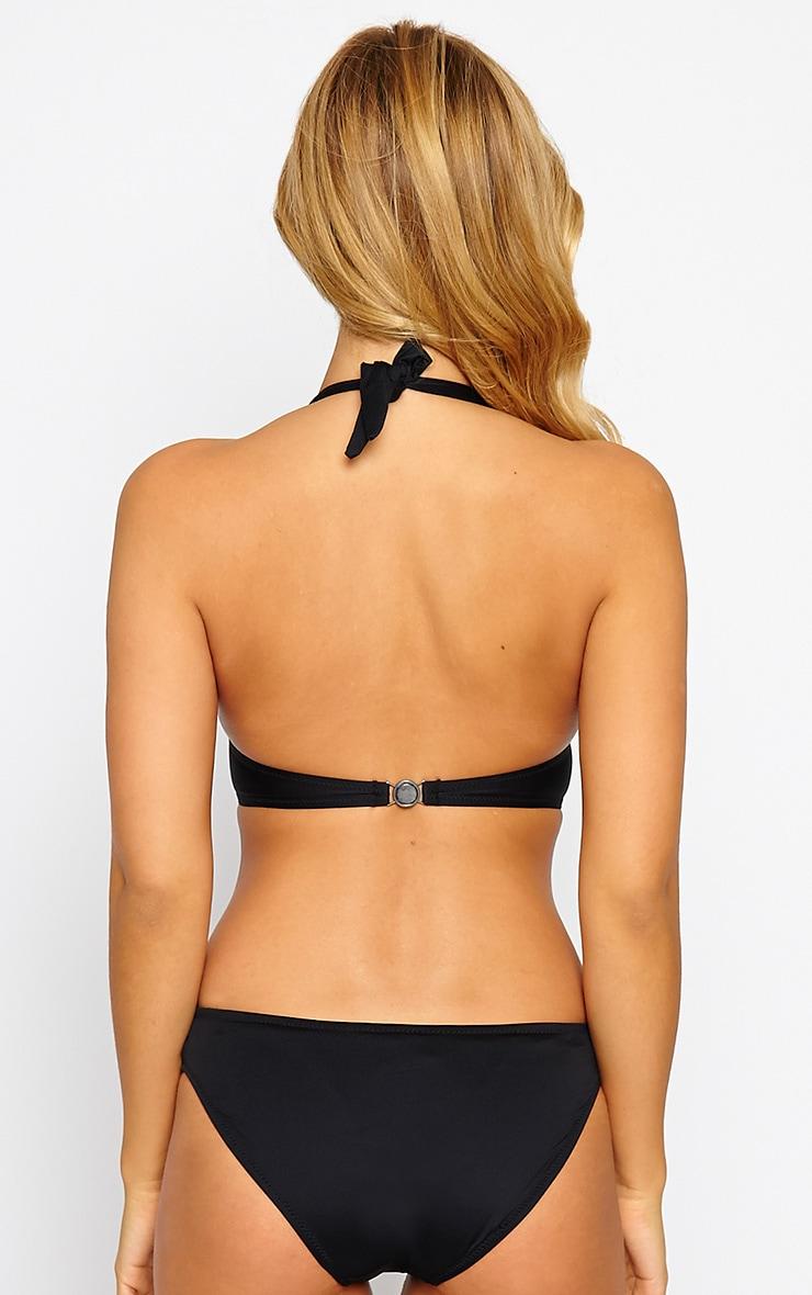 Gabrielle Black Embellished Swimsuit 2