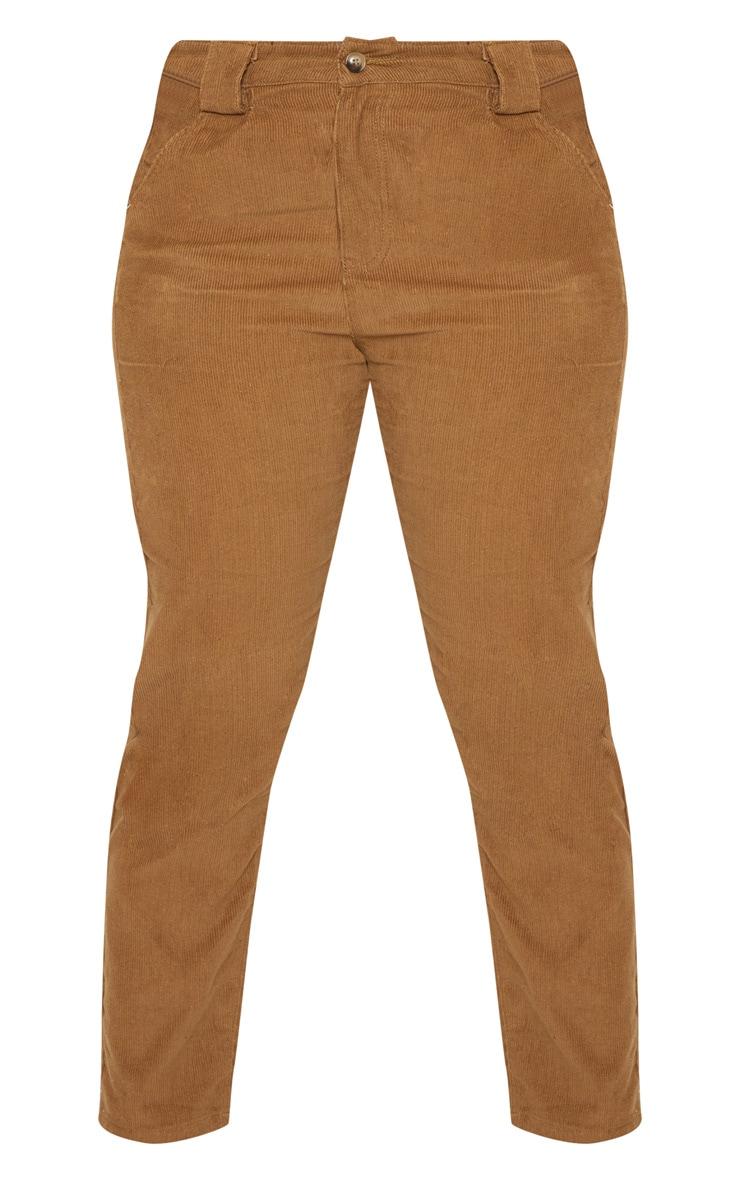 Plus Brown Corduroy Pants 3
