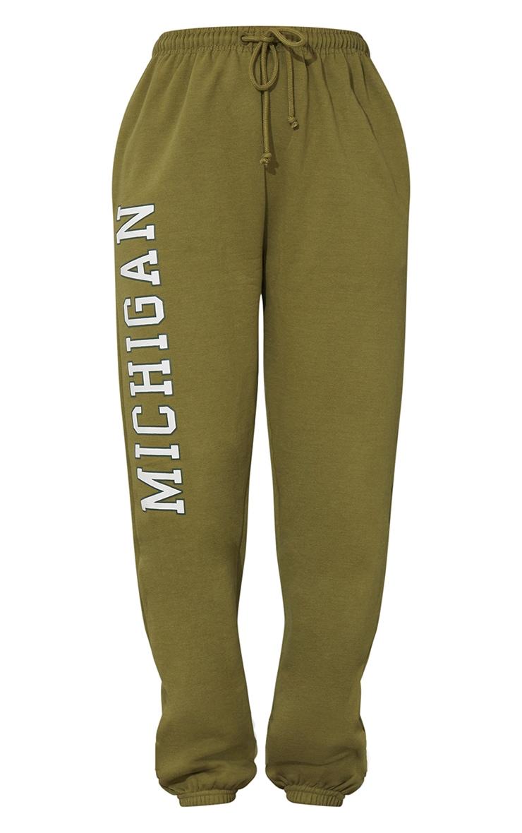 Pistachio Green Michigan Sweat Pant Joggers 5
