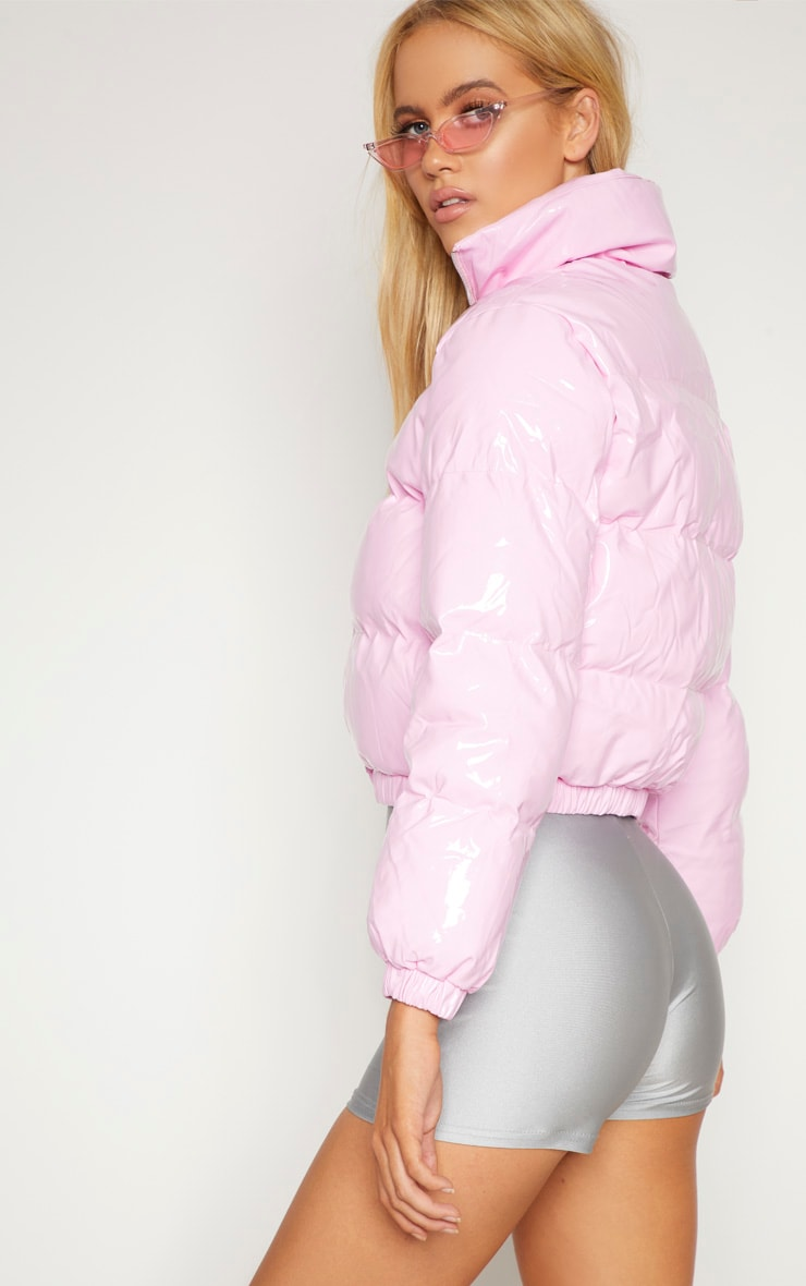 Pink Vinly Puffer 2
