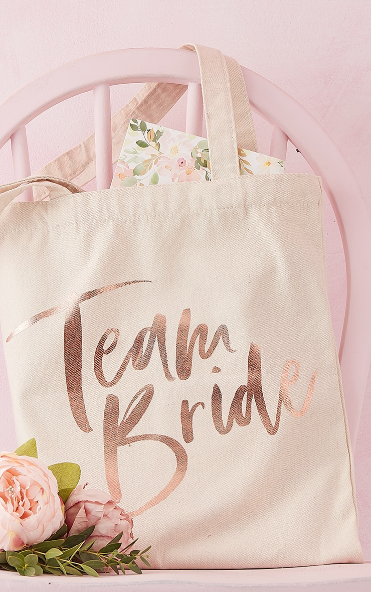 Ginger Ray Team Bride Tote Bag 1