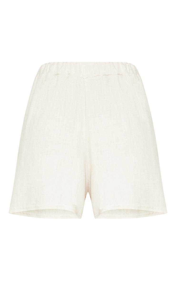 Cream Lightweight Short 3