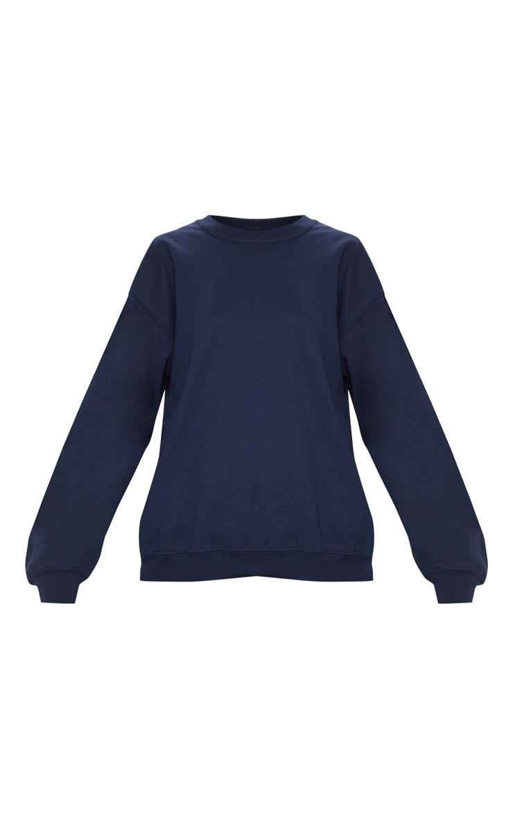 Navy Ultimate Oversized Sweater 3