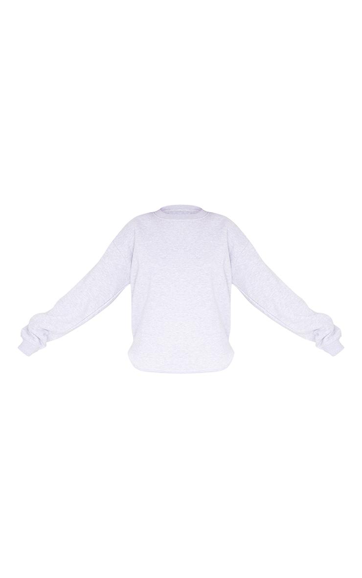 Ash Grey Ultimate Oversized Sweatshirt 5