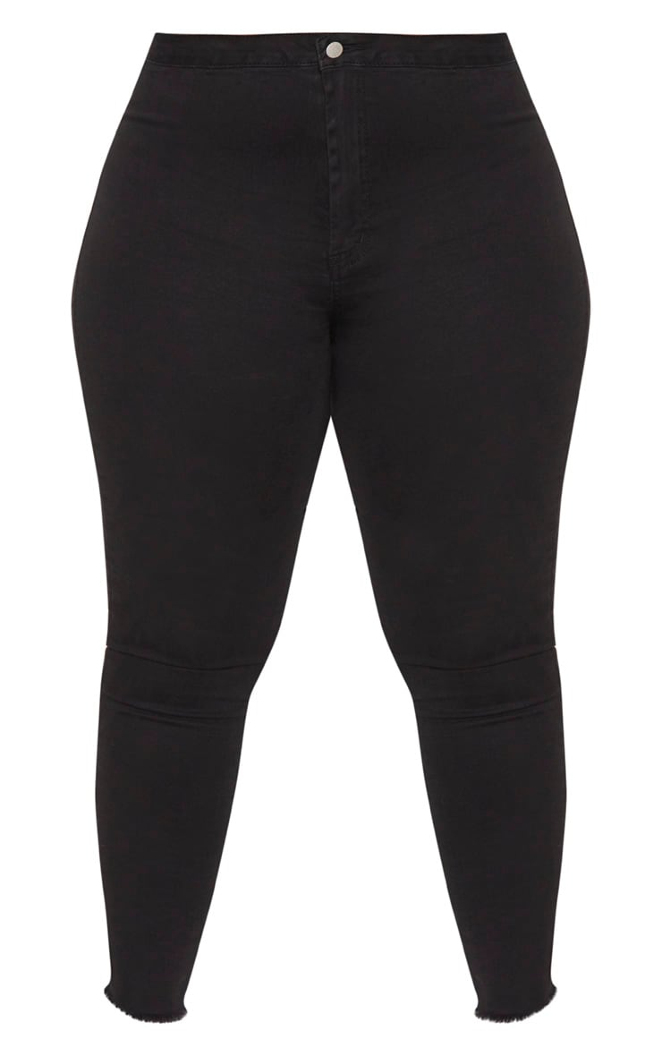 Plus Black Disco Skinny Jeans 3