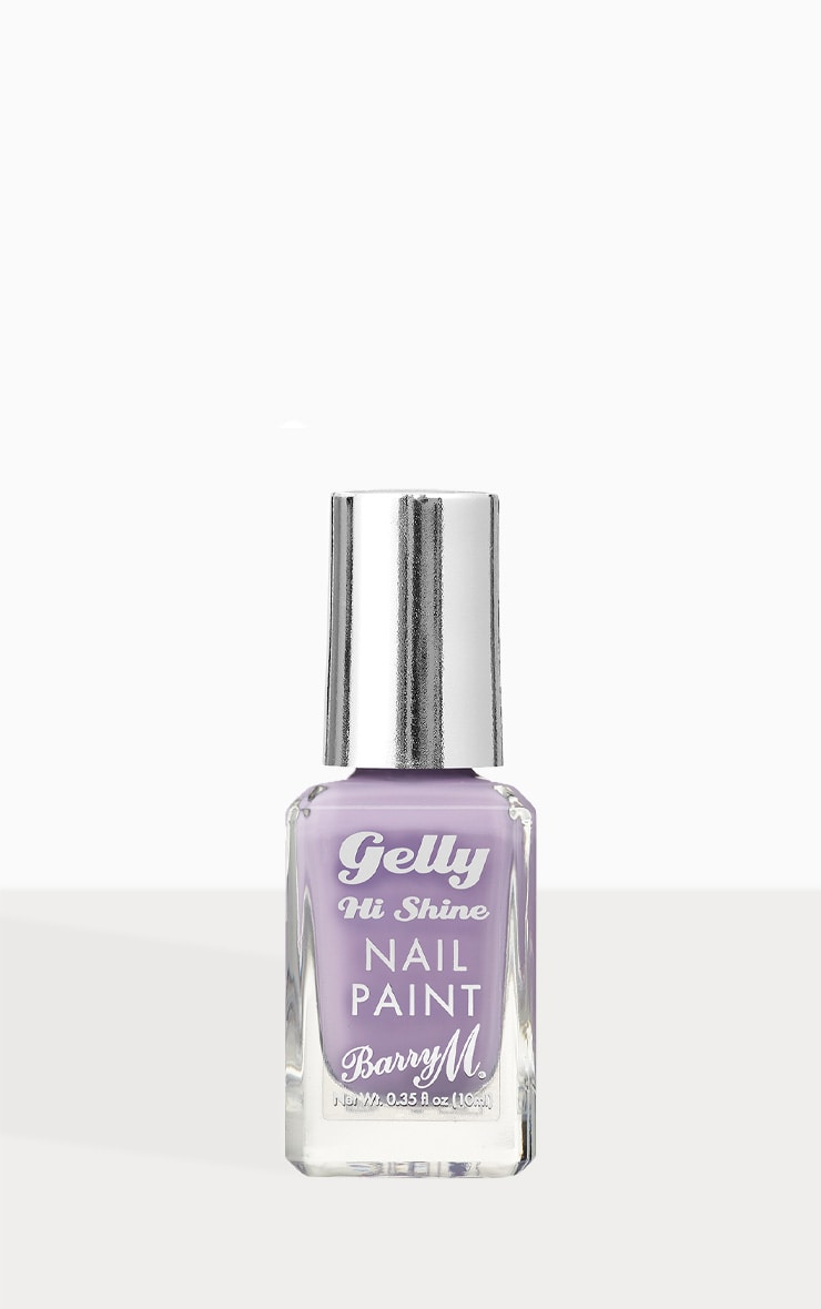 Barry M Gelly Hi Shine Nail Paint Grape Soda 1