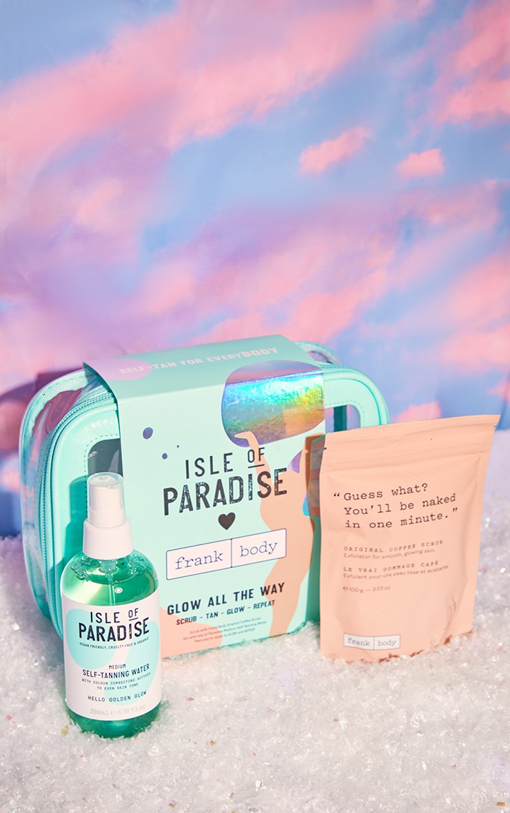 Isle of Paradise Christmas Glow All the Way Scrub-Tan-Glow-Repeat Gift Set 2