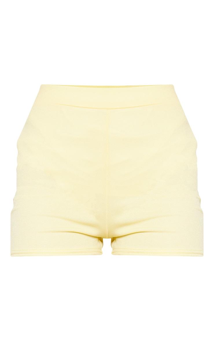 Lemon Striped Suit Short 3