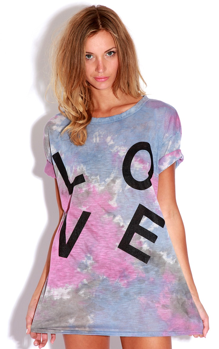 Meena Tie Dye LOVE T-shirt 5