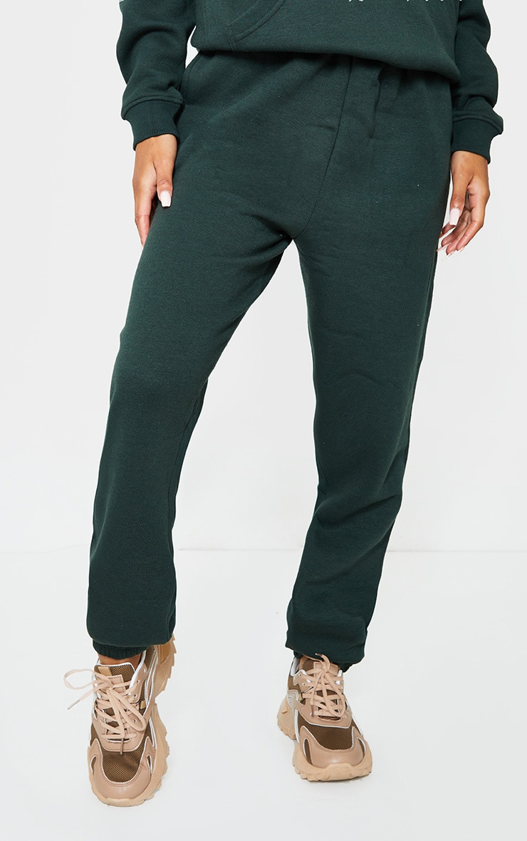Emerald Green Sweat Pant Joggers 2