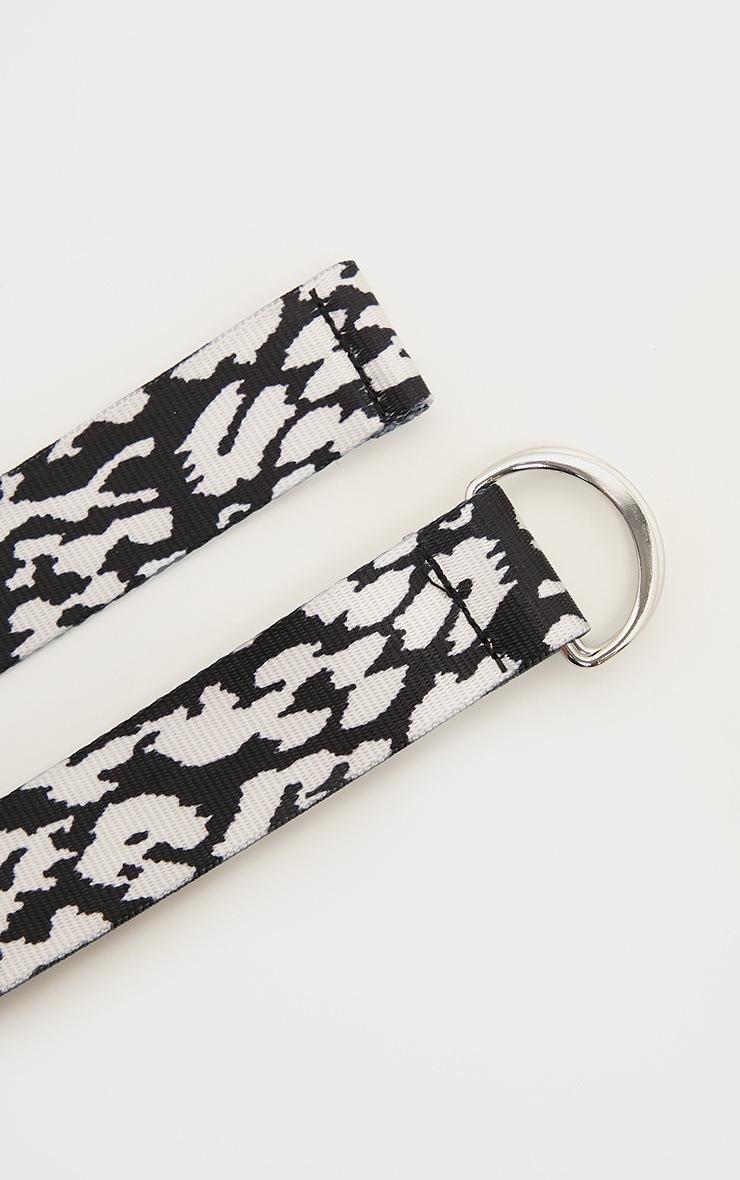 Mono Leopard Tape Belt  3
