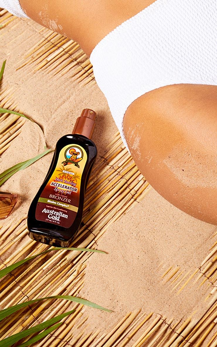 Australian Gold Tan Accelerator Spray Gel with Bronzer 2