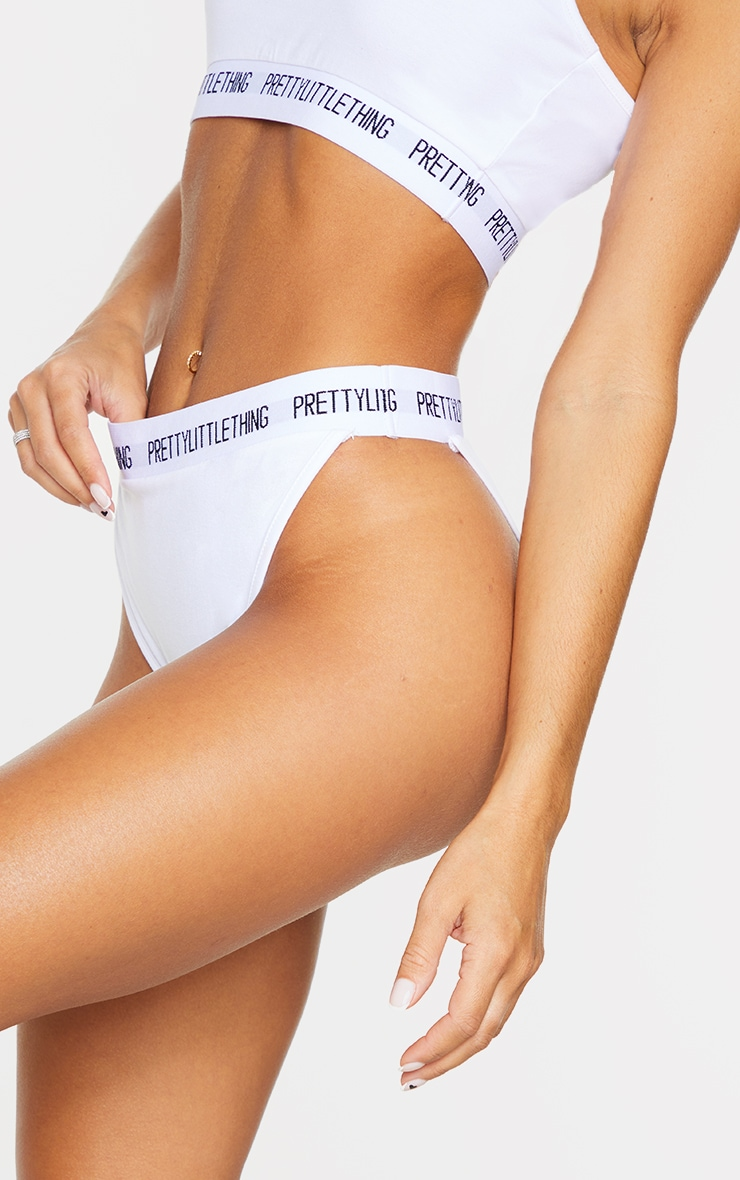 PRETTYLITTLETHING White Knickers 4
