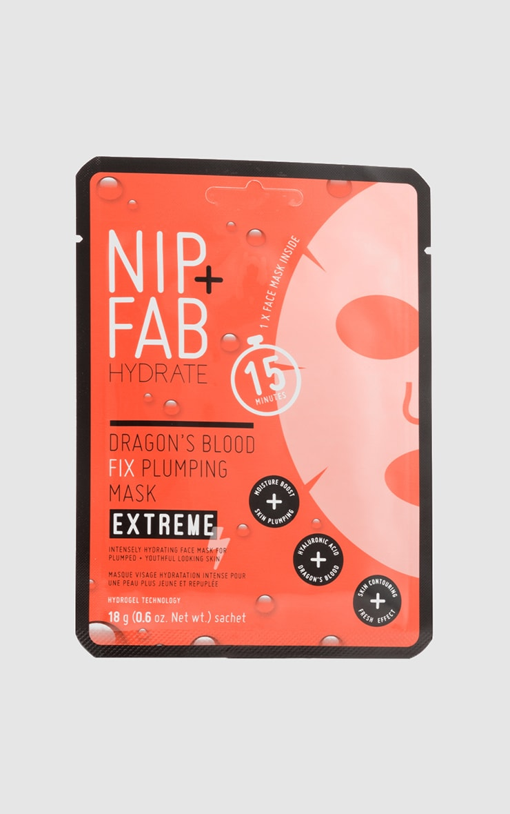 NIP + FAB Dragons Blood Fix Extreme Plumping Mask  1