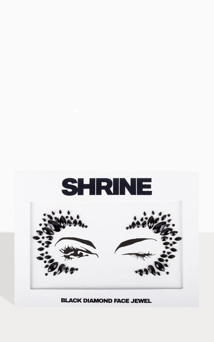 The Gypsy Shrine - Bijoux de visage Halloween noirs  1