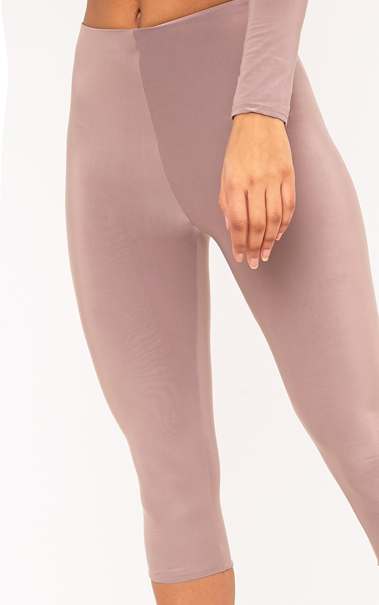 Rio Truffle Slinky Cropped Leggings 5