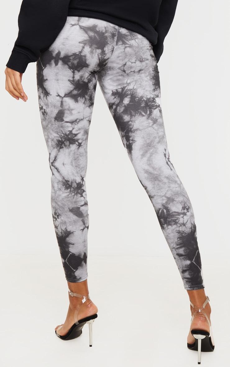 Light Grey Tie Dye Leggings 3
