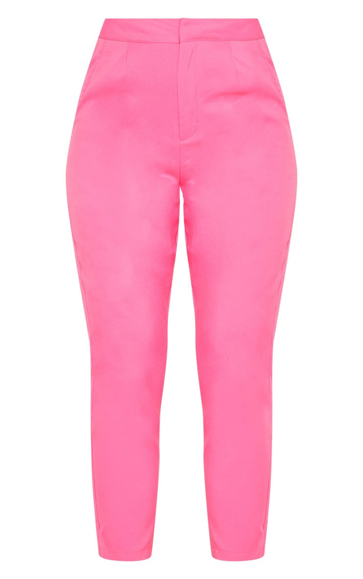 Bubblegum Pink Cropped Pants  4