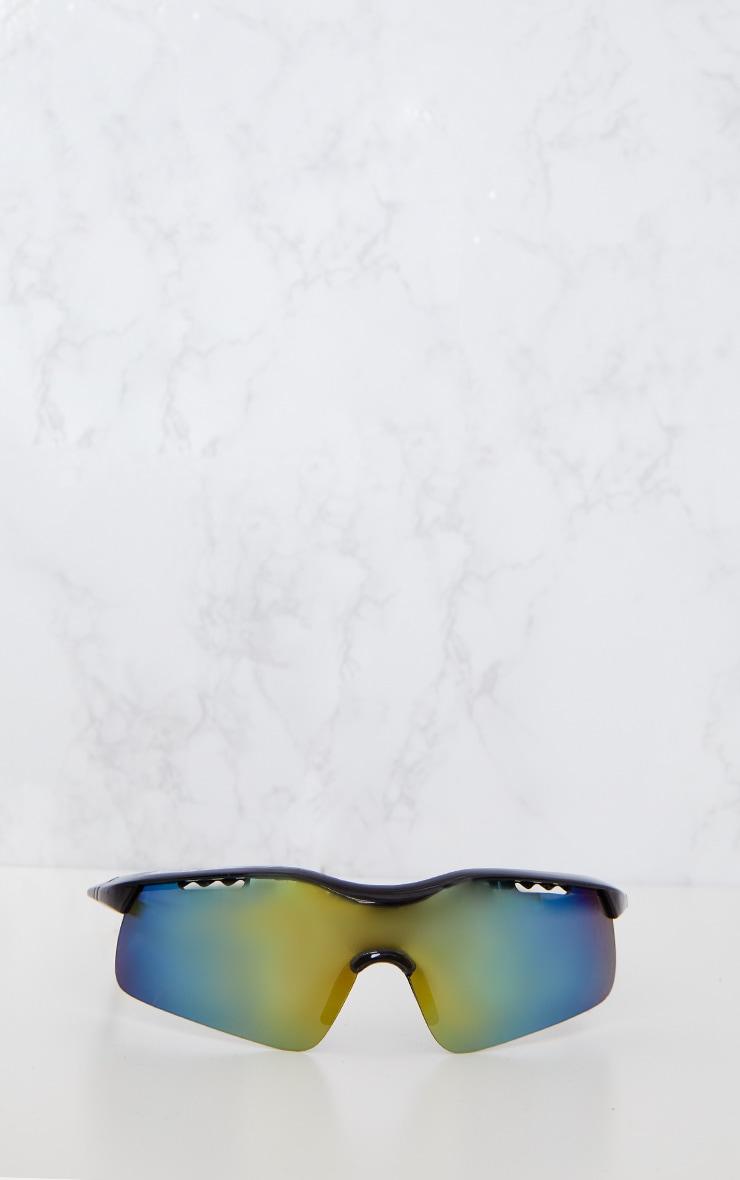 Black Sports Style Sunglasses 3