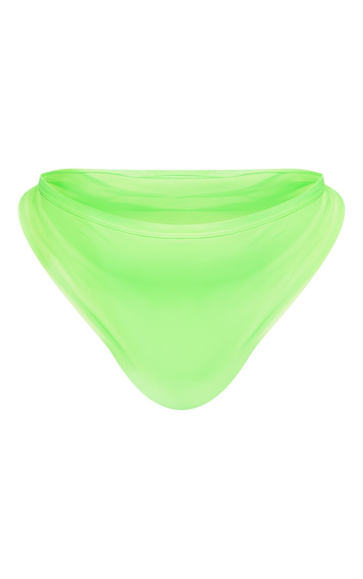 Plus Neon Lime Bikini Bottom 3
