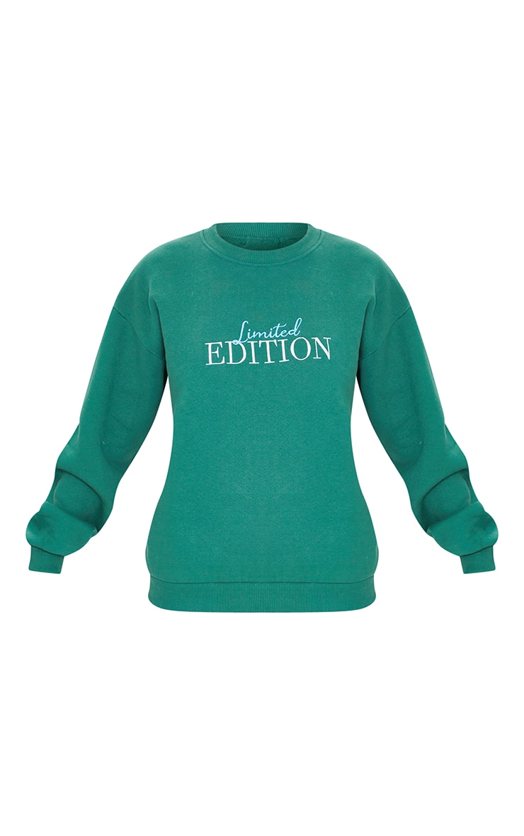 Forest Green Limited Edition Embroidered Sweatshirt 5