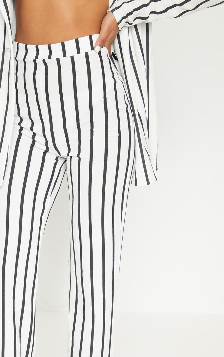 White Striped Pants  4