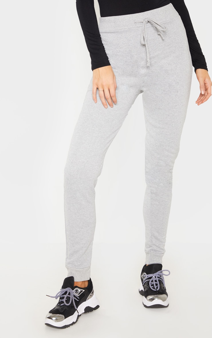 Tall Grey Sweat Track Pants 2