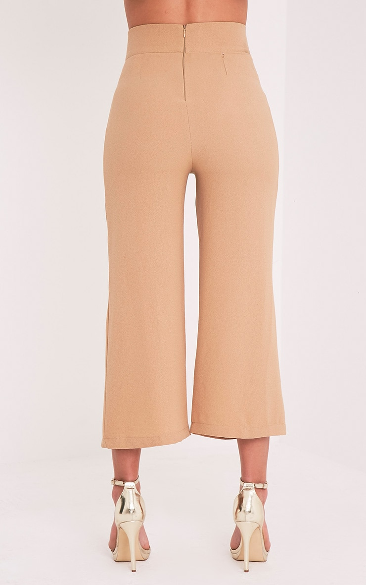 Tazmin Camel High Waisted Culottes 10