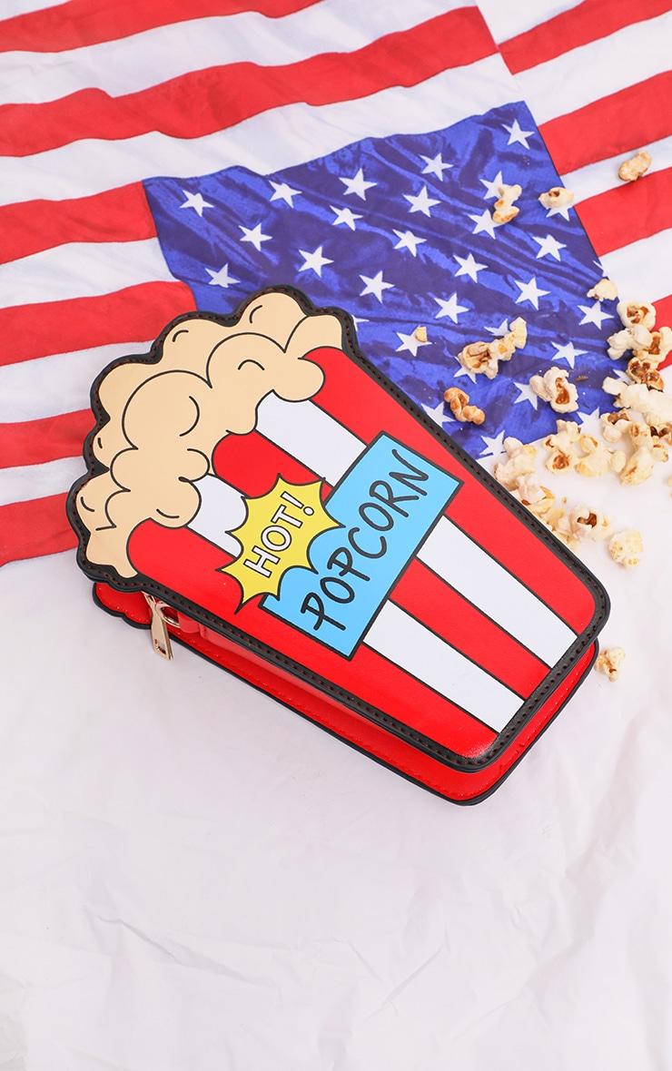 Multi Hot Popcorn Cross Body Bag 4