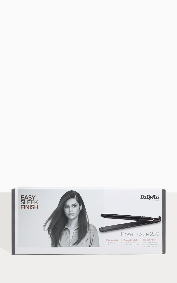 BaByliss Rose Lustre Straightener 3