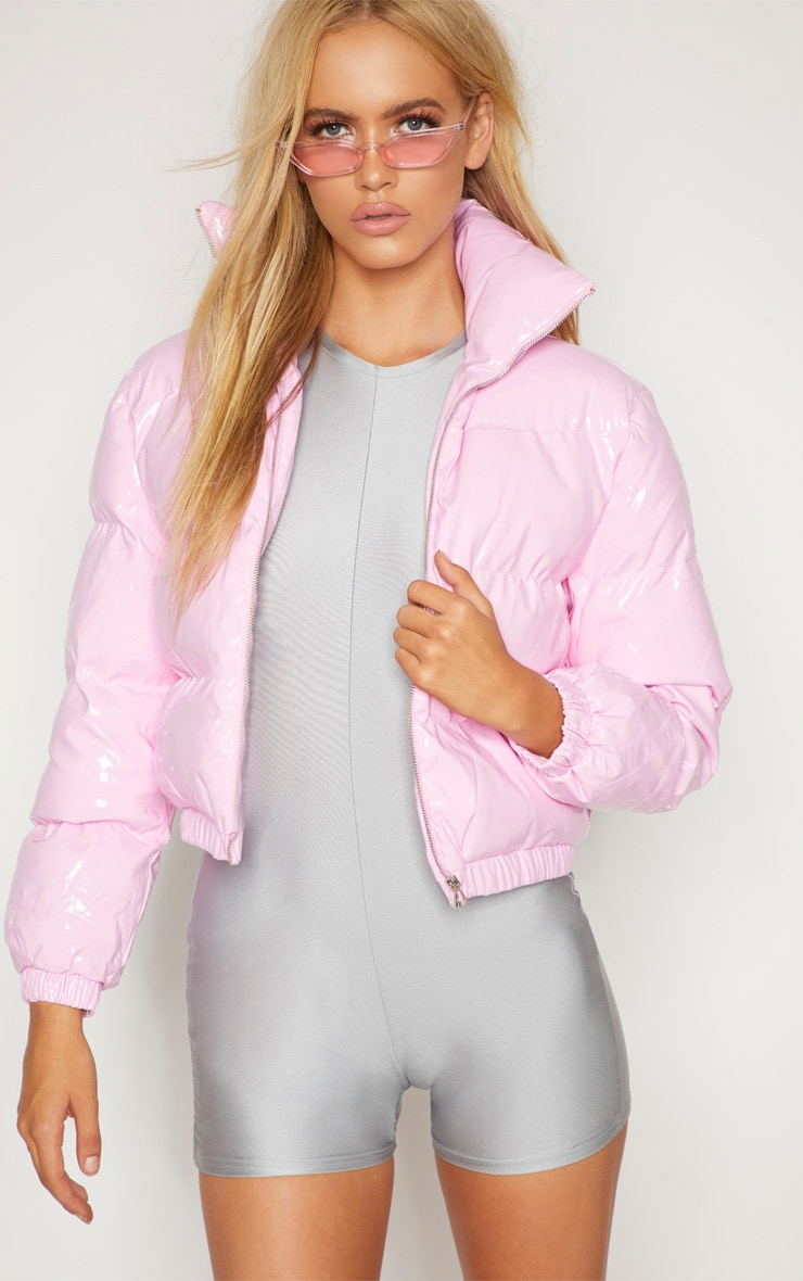 Pink Vinly Puffer 5