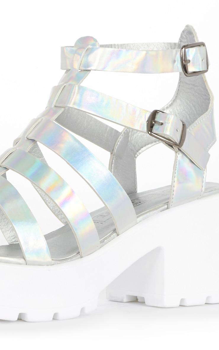Hanna Metallic Cleated Gladiator Sandal  4