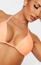 Coral Mix & Match Triangle Bikini Top 4